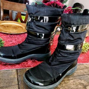 Cole Haan Nylon Waterproof Snow/Rain Boots